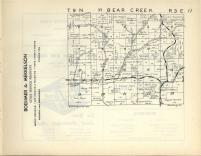 Bear Creek T9N-R3E, Sauk County 1953
